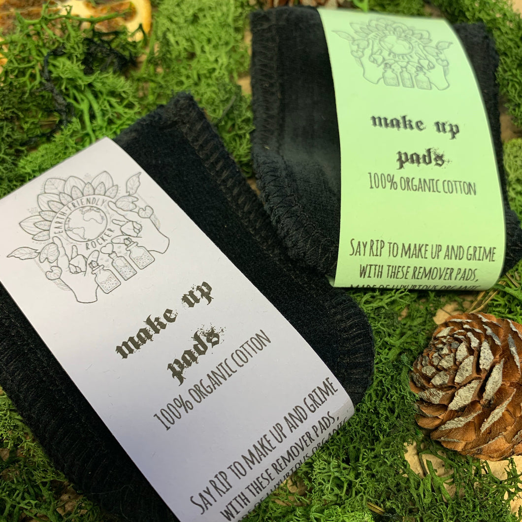 Earth Friendly Rocker Make Up Pads (Travel Pack)