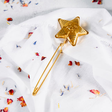 Sass and Belle Brass Star Tea Infuser
