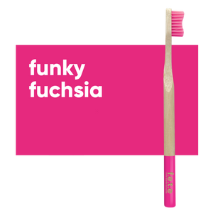 Adult Single Bamboo Toothbrush (Firm)