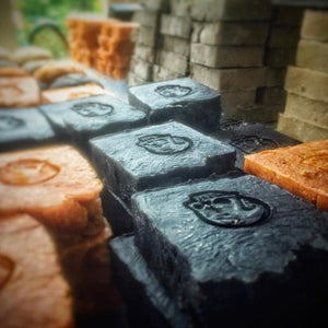 Primal Suds Soap Bar - Skull Suddery Black
