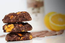 Load image into Gallery viewer, Chocotastic Chocolate Orange Cookies
