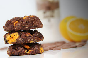 Chocotastic Chocolate Orange Cookies
