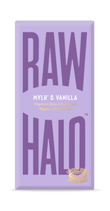 Raw Halo Vegan Chocolate - Mylk and Vanilla (70g)