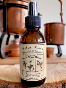Salix Moon Apothecary - Organic Orange Blossom Water & Witch Hazel Facial Toner