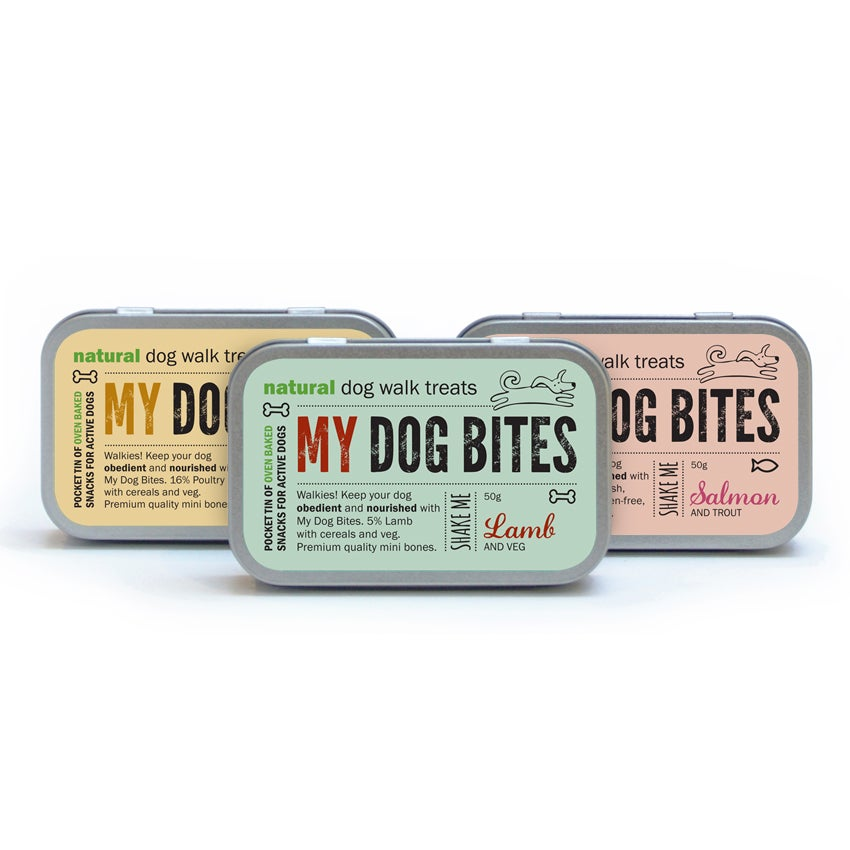 My Dog Bites Walkies Treat Tin 🐾