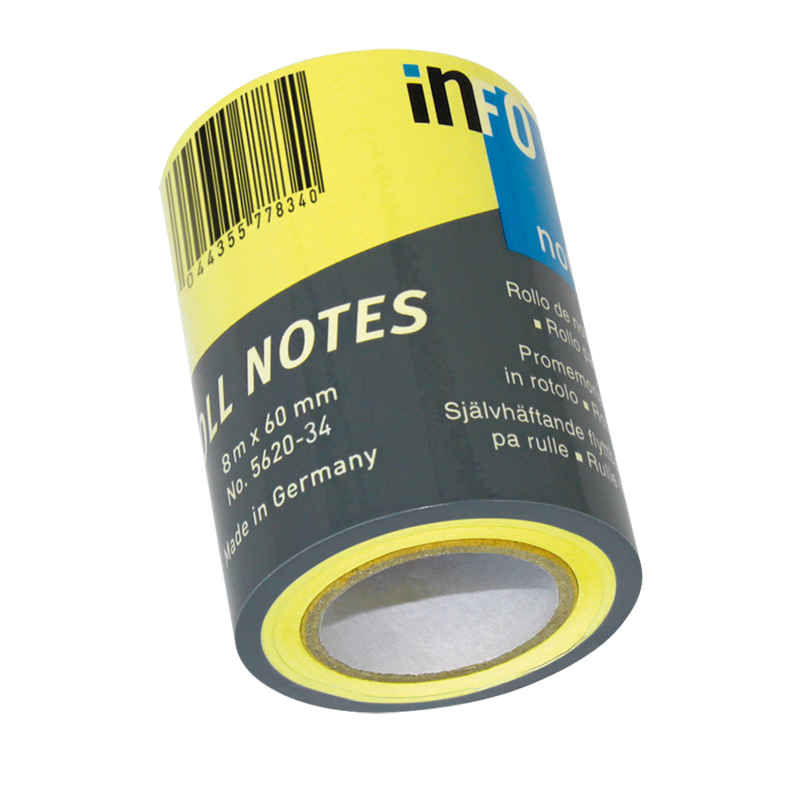 Haftnotizen Roll Notes NF 60mm x 10m