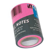 Laden Sie das Bild in den Galerie-Viewer, Haftnotizen Roll Notes NF 60mm x 10m