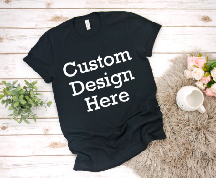 Adult Custom Design Graphic Tees