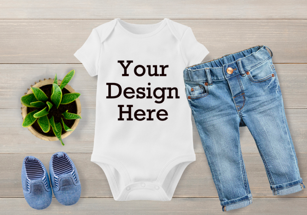 Custom Design Baby Onesies