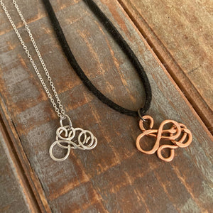 Silver and Copper Jewelry