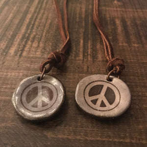 Necklace - Imagine Peace Necklace - CLEARANCE