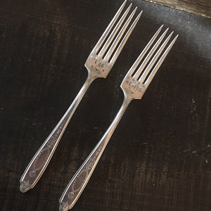 Fork Set - I Do, Me Too