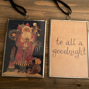 Ornament - To All A Goodnight - CLEARANCE