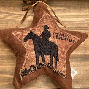 Ornaments - Cowboy Christmas - CLEARANCE