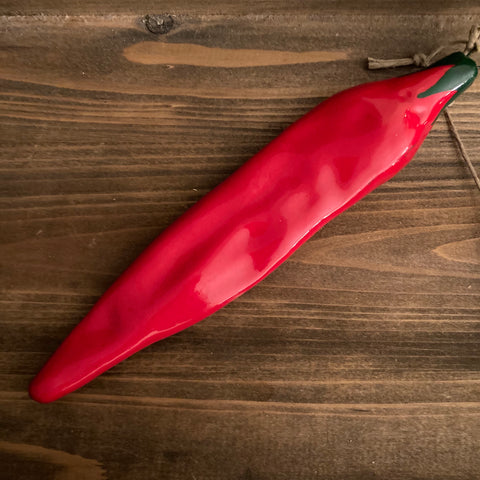 Ornaments - Red Pepper - CLEARANCE