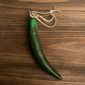 Ornaments - Green Pepper - CLEARANCE