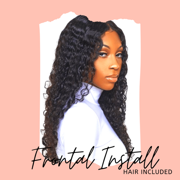 Lace Frontal Wig & Install Package