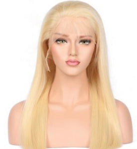 Blonde Lace Frontal Wig- Straight