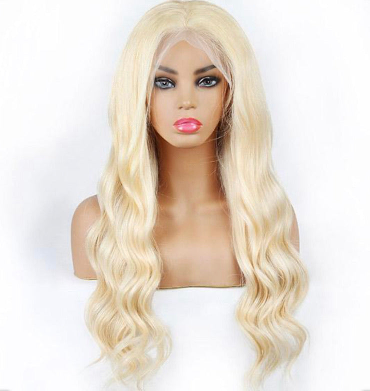 Blonde Lace Frontal Wig- Body Wave