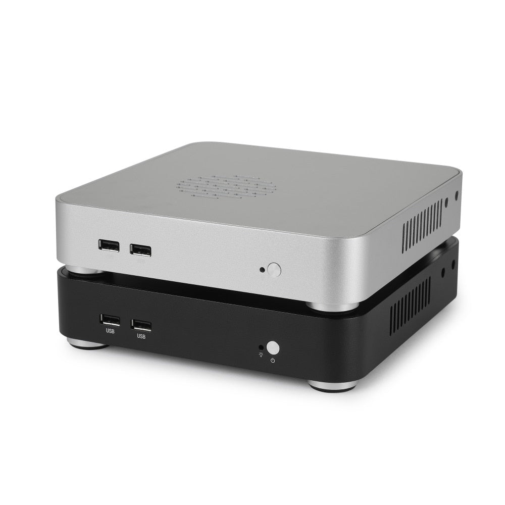 RGeek Mini PC Windows 10 Intel Core i3 i5 i7 Dual Coref Mini Desktop PC HDMI VGA WiFi Nettop HTPC