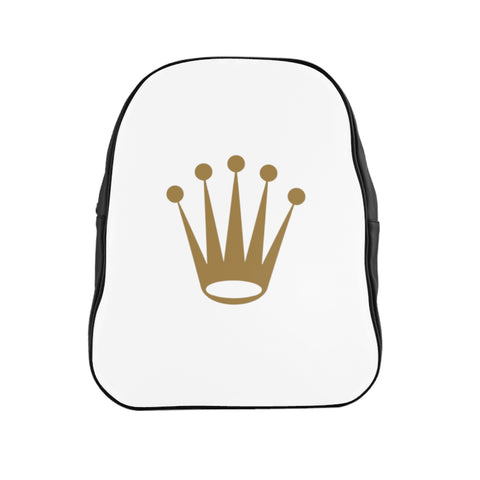 rolex crown School Backpack