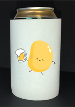 Load image into Gallery viewer, Bean Festival Drink Koozie, drinking bean logo
