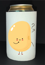 Load image into Gallery viewer, Bean Festival Drink Koozie, uh oh bean logo
