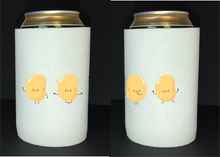 Load image into Gallery viewer, Bean Festival Drink Koozie, dancing beans logo