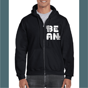 Bean Fest Zippered Hoodie with Pockets
