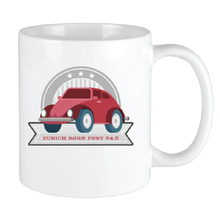 Load image into Gallery viewer, Bean Festival Mug,red car logo
