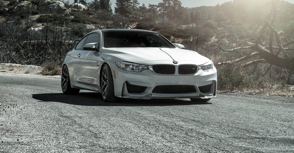 VORSTEINER VRS GTS Aero Front Spoiler Carbon Fiber PP 1x1 Glossy for BMW F8X M3/M4