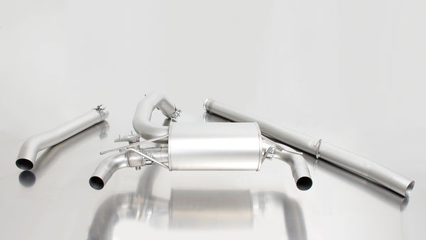 REMUS Cat-back-system with integrated valve system (optional tail pipes) for Ford Focus III RS