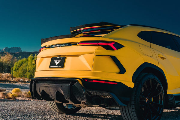 VORSTEINER UX-07 Edizione Aero Rear Air Ducts Carbon Fiber PP 2X2 Glossy for LAMBORGHINI Urus