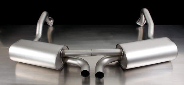 REMUS Sport Exhaust Cat-back-system (optional tail pipes) for Porsche Cayman /S