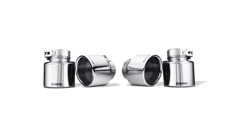 BMW X5 M (E70) 2009 Tail pipe set (Titanium) TP-T/P/2
