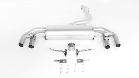 REMUS RACING Sport Exhaust Cat-back-system with 2 integrated electrical valves for VW Golf VII R 4motion Facelift