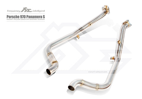FI Exhaust Porsche 970.1 Panamera Turbo DownPipe Only
