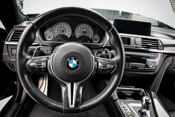 ARMASpeed BMW F82 M4 Forged Carbon Steering Wheel Cover