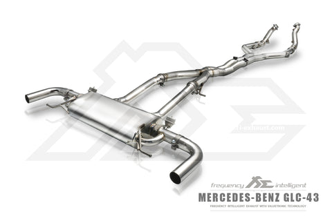 FI Exhaust Mercedes-Benz GLC43 AMG DownPipe Only