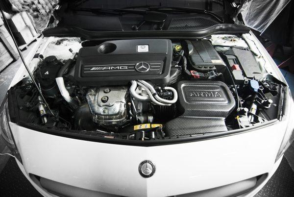 ARMASpeed Mercedes-Benz C117 CLA 45 Cold Carbon Intake