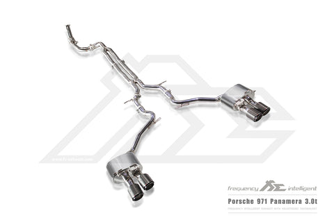 FI Exhaust Porsche 971 Panamera 3.0T DownPipe Only