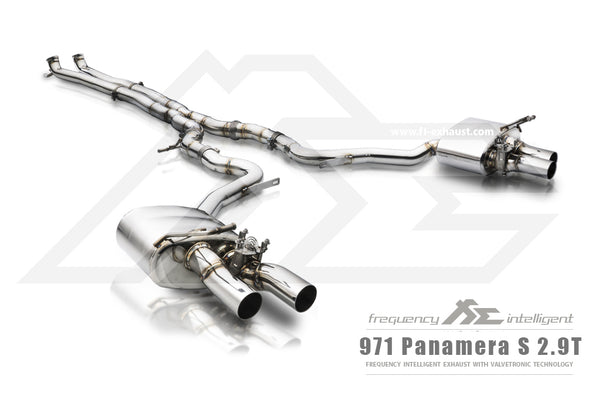 FI Exhaust Porsche 971 Panamera 2.9TT DownPipe Only