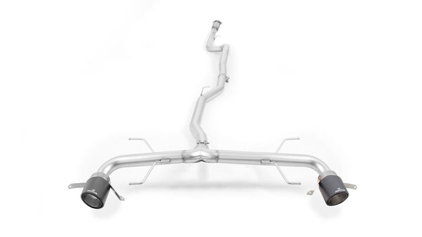 REMUS Non-Resonated Racing Cat-back-system(optional tail pipe), for ALFA Romeo Giulia Veloce