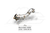 FI Exhaust Mercedes-Benz E250/E300 Mid Y Pipe + Valvetronic Mufflers