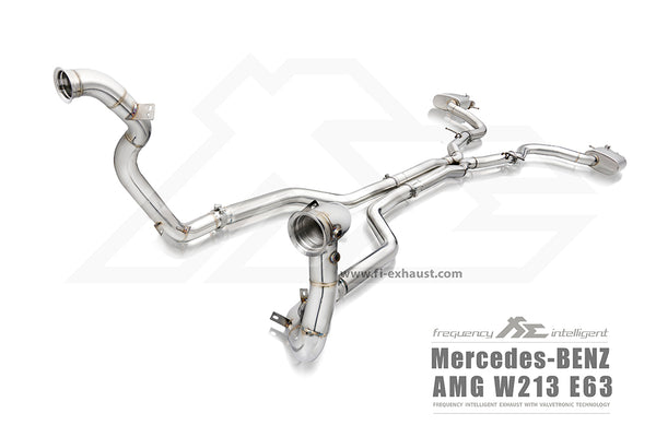 FI Exhaust Mercedes-Benz E63 DownPipe