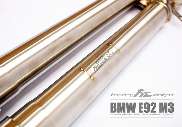 FI Exhaust BMW M3 E90/E92 Catless Pipe + Mid X Pipe