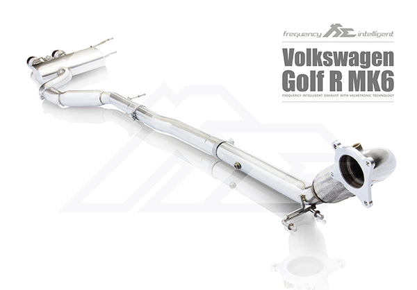 FI Exhaust VW Golf R20 MK6 DownPipe Only