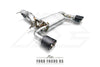 FI Exhaust Ford Focus RS Front Pipe + Mid Pipe + Valvetronic Mufflers + Dual Tips