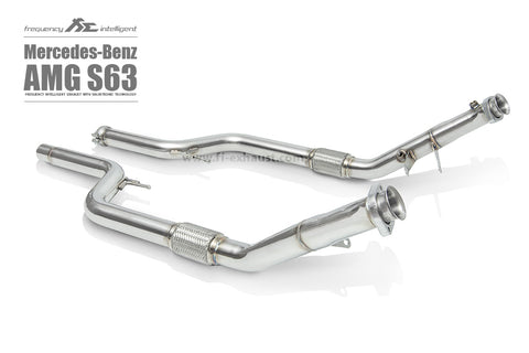 FI Exhaust Mercedes-Benz S63 AMG Coupe DownPipe Only