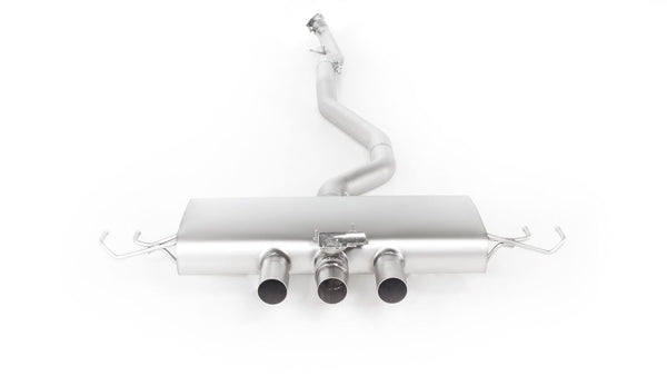 REMUS Sport Exhaust centered Cat-back-system with integrated valve for Honda Civic Type-R